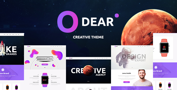 Odear Preview Wordpress Theme - Rating, Reviews, Preview, Demo & Download