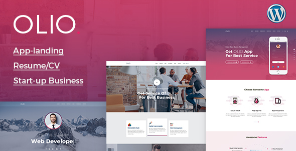 Olio Preview Wordpress Theme - Rating, Reviews, Preview, Demo & Download