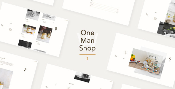 OneManShop One Preview Wordpress Theme - Rating, Reviews, Preview, Demo & Download