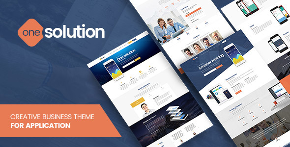 OneSolution Preview Wordpress Theme - Rating, Reviews, Preview, Demo & Download
