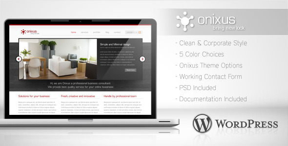 Onixus Preview Wordpress Theme - Rating, Reviews, Preview, Demo & Download