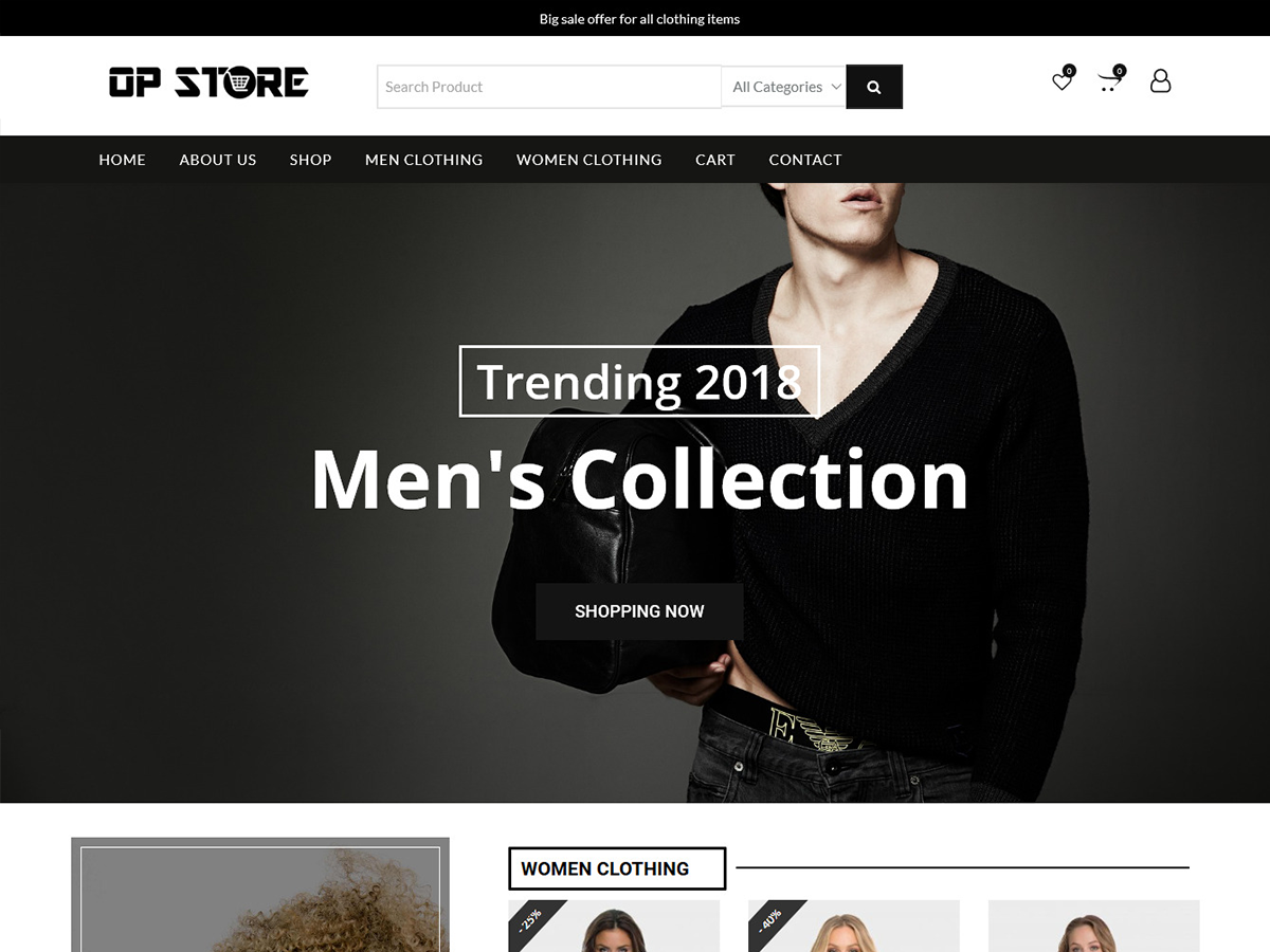 Opstore Preview Wordpress Theme - Rating, Reviews, Preview, Demo & Download