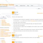 Orange Techno