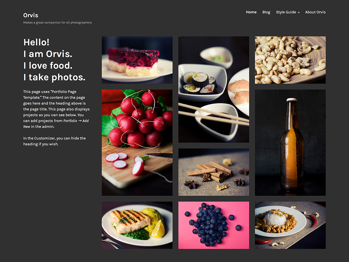 Orvis Preview Wordpress Theme - Rating, Reviews, Preview, Demo & Download