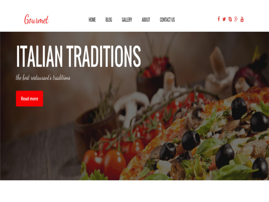 OS Gourmet Preview Wordpress Theme - Rating, Reviews, Preview, Demo & Download