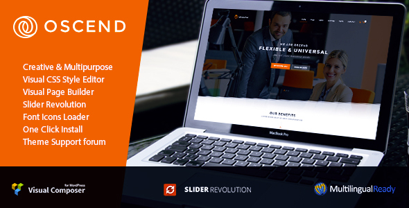 Oscend Pluse Preview Wordpress Theme - Rating, Reviews, Preview, Demo & Download