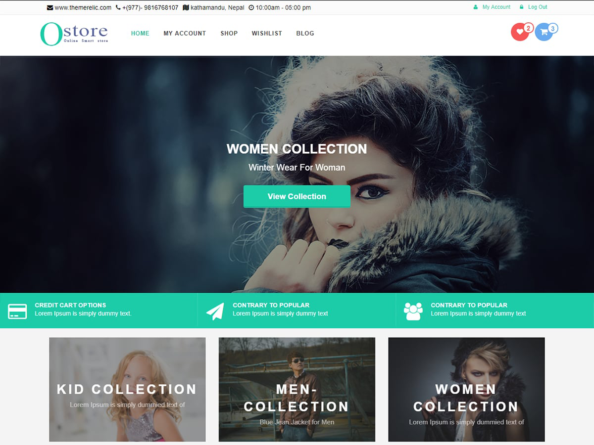 OStore Preview Wordpress Theme - Rating, Reviews, Preview, Demo & Download