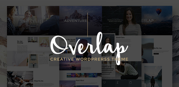 Overlap Preview Wordpress Theme - Rating, Reviews, Preview, Demo & Download