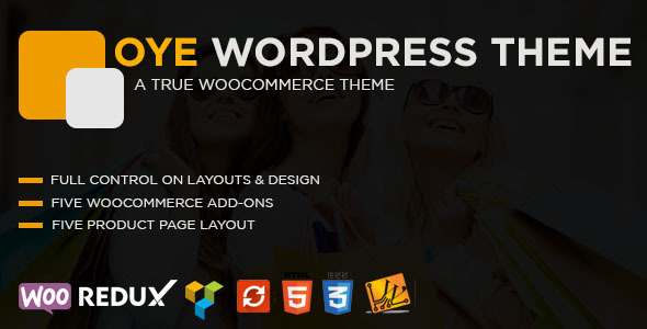 OYE Preview Wordpress Theme - Rating, Reviews, Preview, Demo & Download