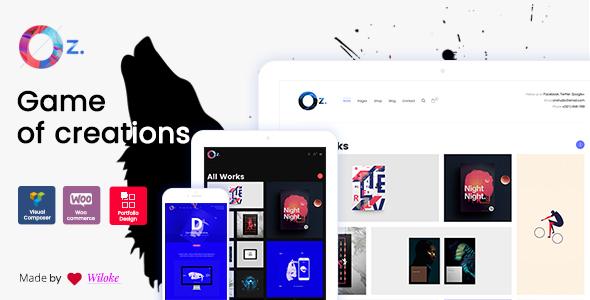 OZ Preview Wordpress Theme - Rating, Reviews, Preview, Demo & Download