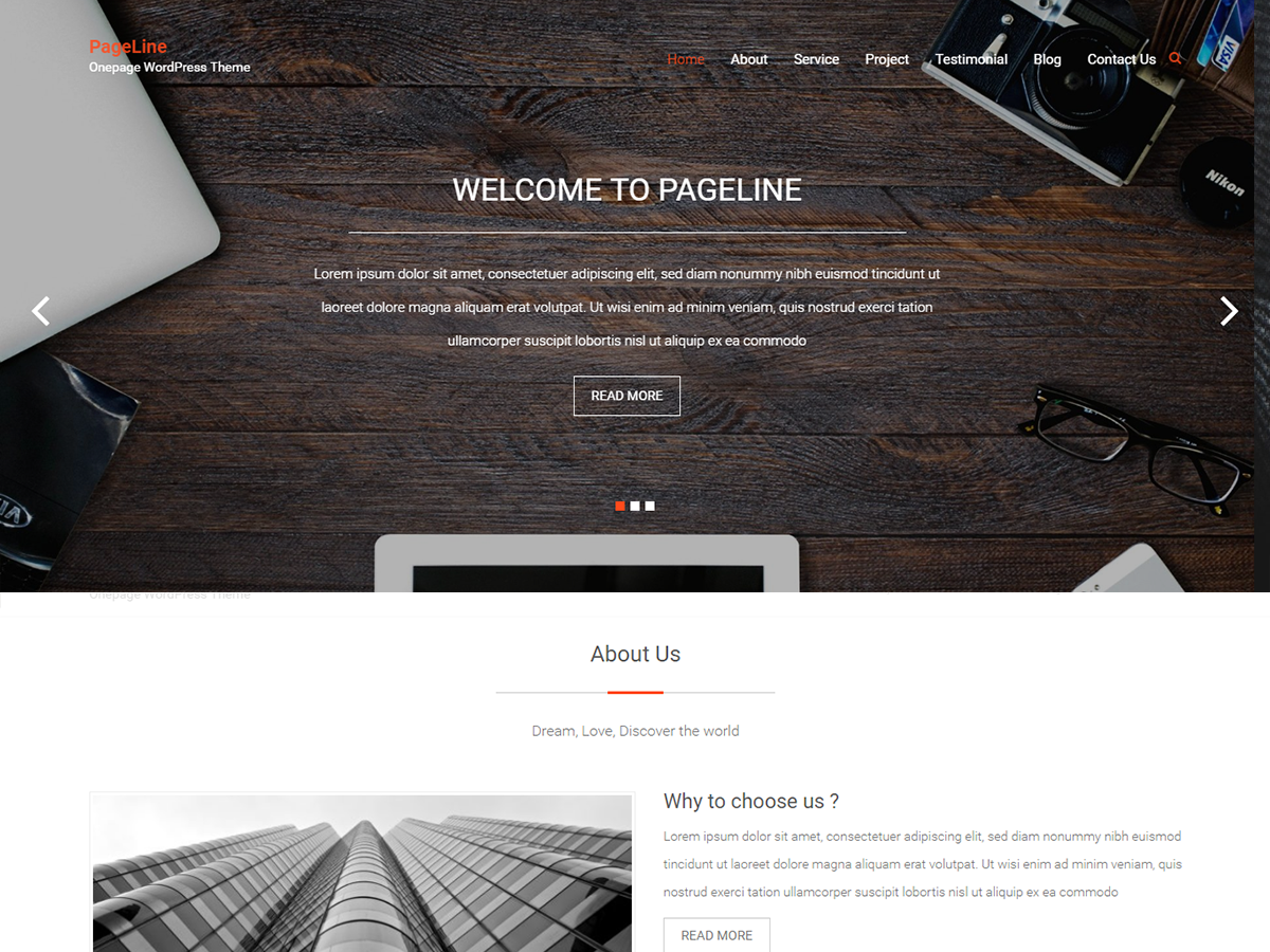 PageLine Preview Wordpress Theme - Rating, Reviews, Preview, Demo & Download