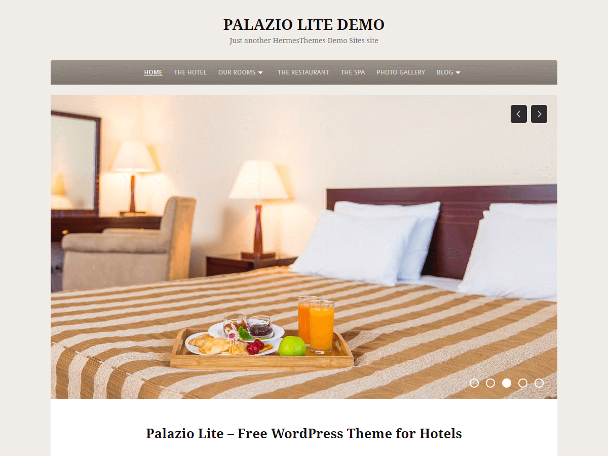 Palazio Lite Preview Wordpress Theme - Rating, Reviews, Preview, Demo & Download
