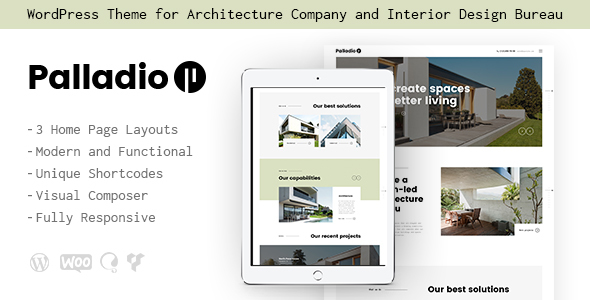 Palladio Preview Wordpress Theme - Rating, Reviews, Preview, Demo & Download