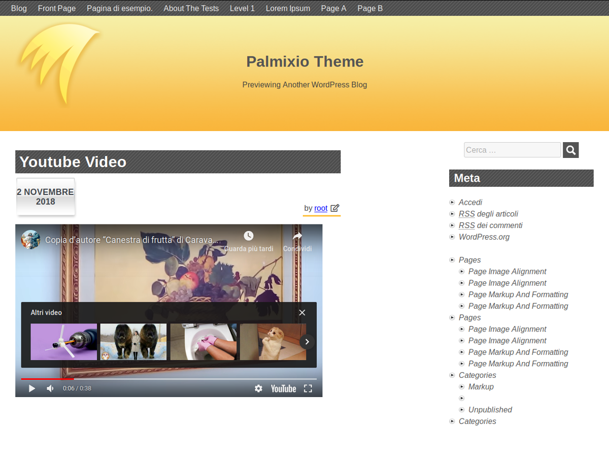 Palmixio Preview Wordpress Theme - Rating, Reviews, Preview, Demo & Download