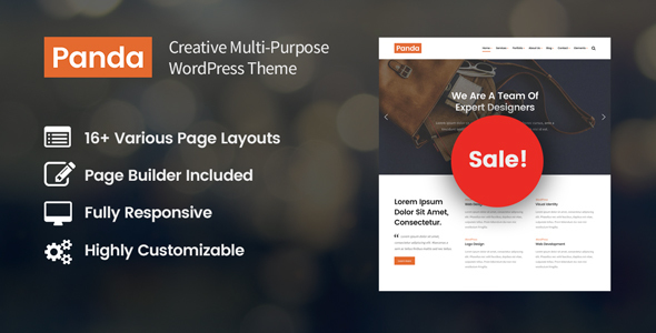 Panda Preview Wordpress Theme - Rating, Reviews, Preview, Demo & Download