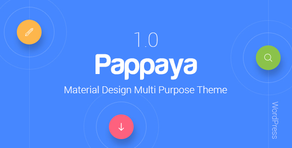Pappaya Preview Wordpress Theme - Rating, Reviews, Preview, Demo & Download