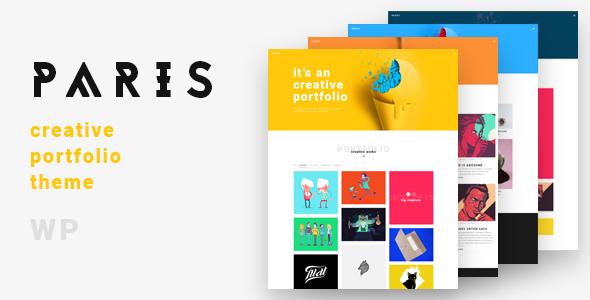 Paris A Preview Wordpress Theme - Rating, Reviews, Preview, Demo & Download