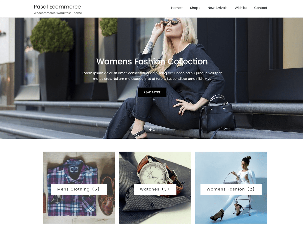 Pasal Ecommerce Preview Wordpress Theme - Rating, Reviews, Preview, Demo & Download