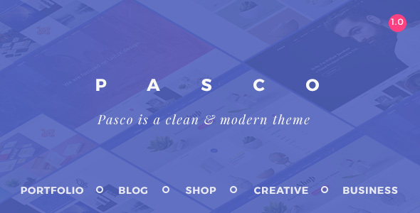 Pasco Preview Wordpress Theme - Rating, Reviews, Preview, Demo & Download