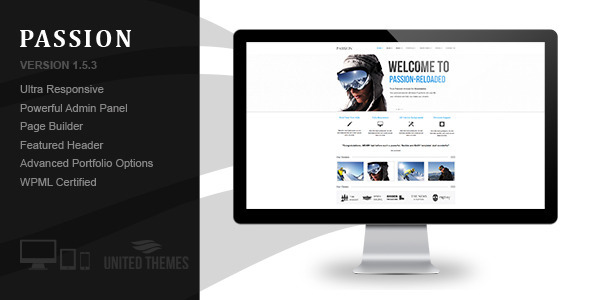 Passion Reloaded Preview Wordpress Theme - Rating, Reviews, Preview, Demo & Download