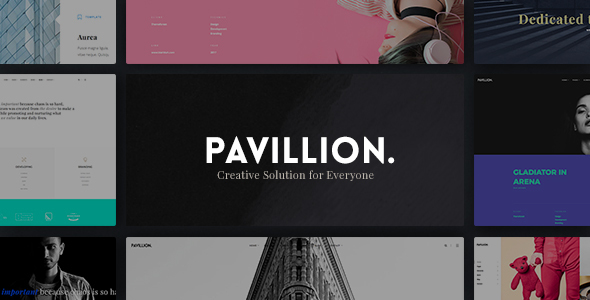 Pavillion Preview Wordpress Theme - Rating, Reviews, Preview, Demo & Download