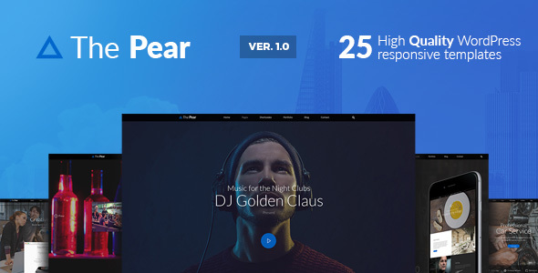 Pear Preview Wordpress Theme - Rating, Reviews, Preview, Demo & Download