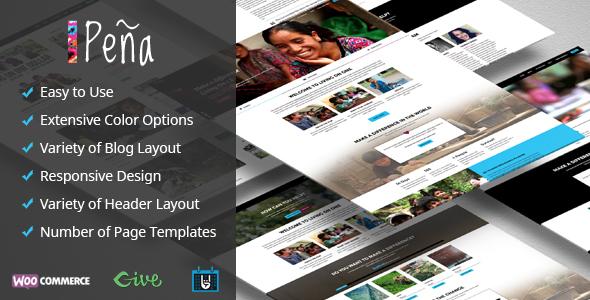 Pena Preview Wordpress Theme - Rating, Reviews, Preview, Demo & Download