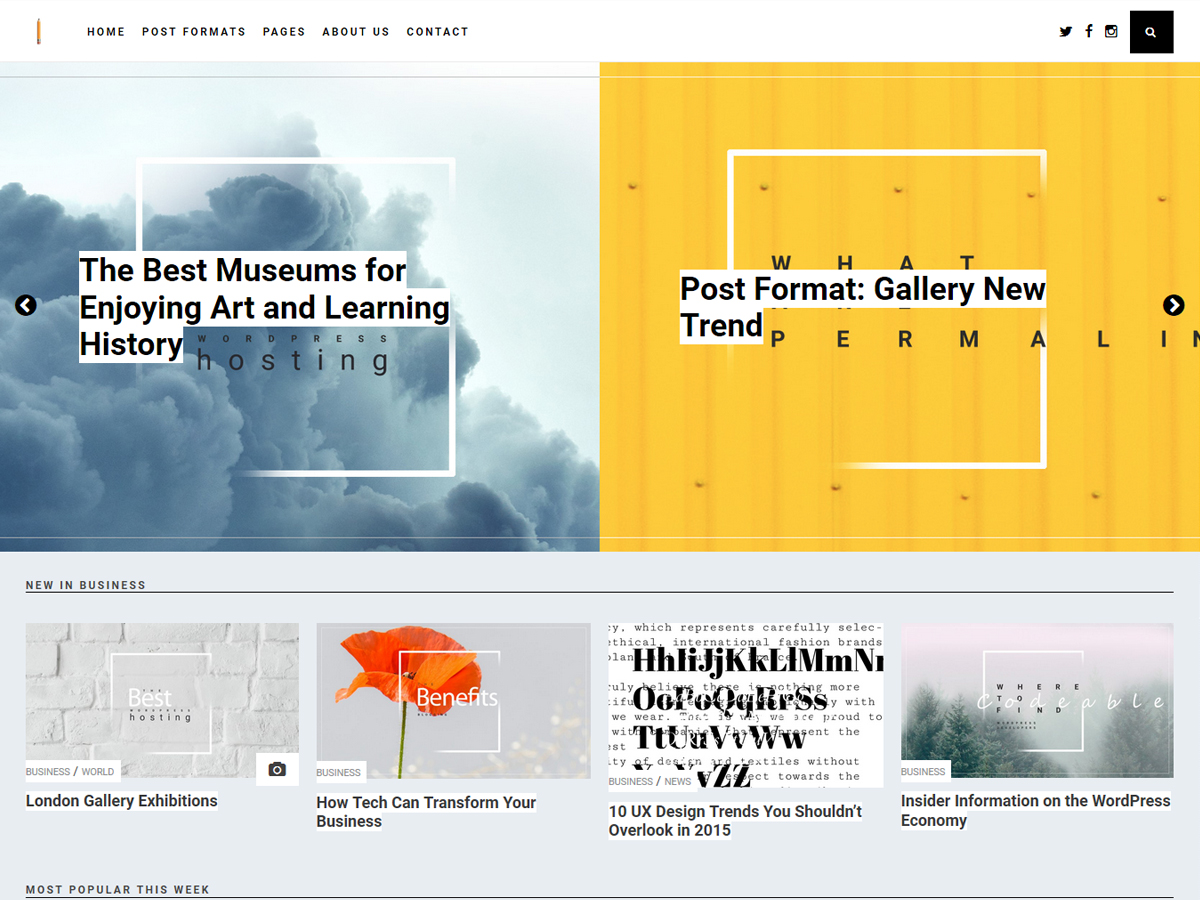 Penciletto Preview Wordpress Theme - Rating, Reviews, Preview, Demo & Download