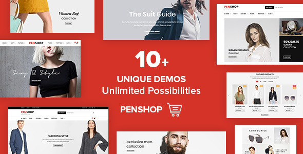 PenShop Preview Wordpress Theme - Rating, Reviews, Preview, Demo & Download