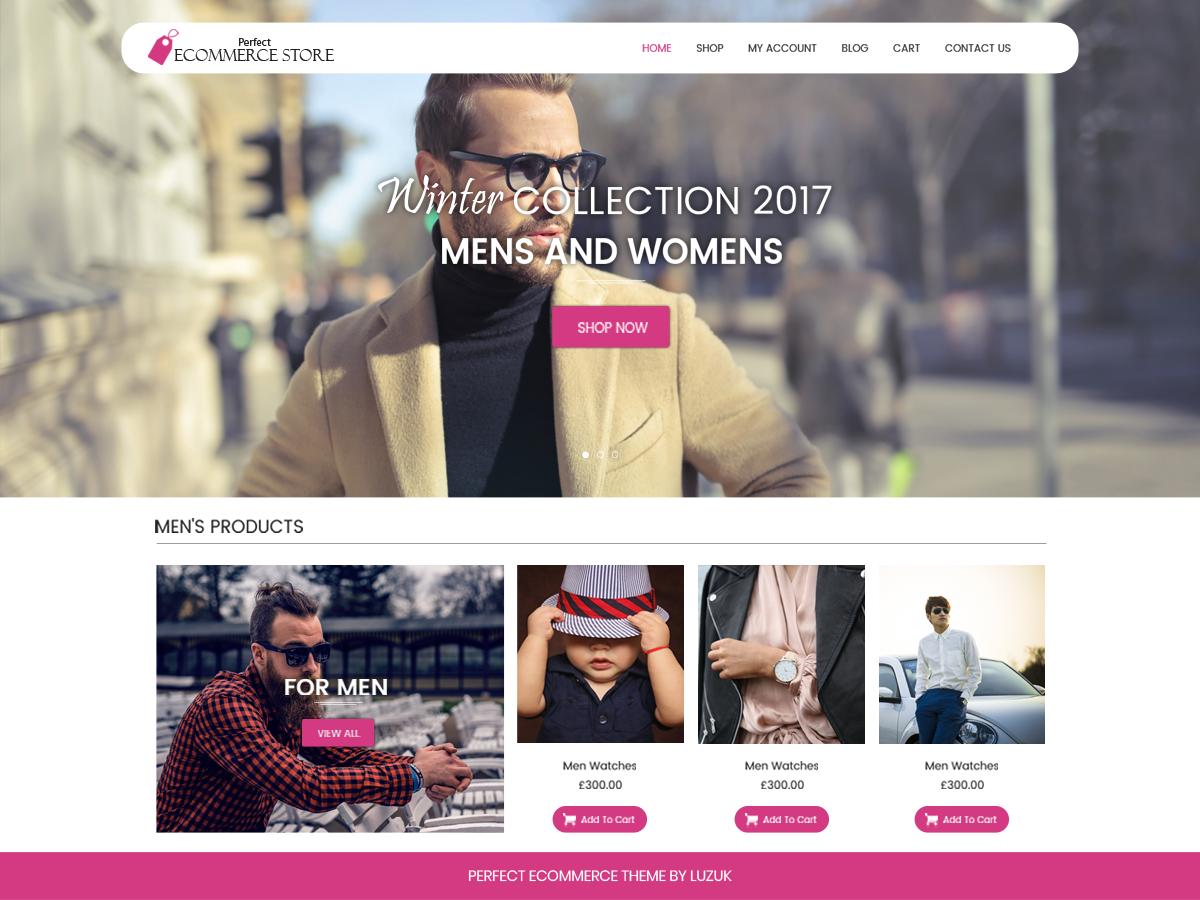 Perfect Ecommerce Preview Wordpress Theme - Rating, Reviews, Preview, Demo & Download