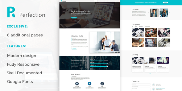Perfection Preview Wordpress Theme - Rating, Reviews, Preview, Demo & Download