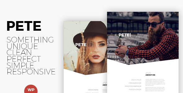 Pete Preview Wordpress Theme - Rating, Reviews, Preview, Demo & Download