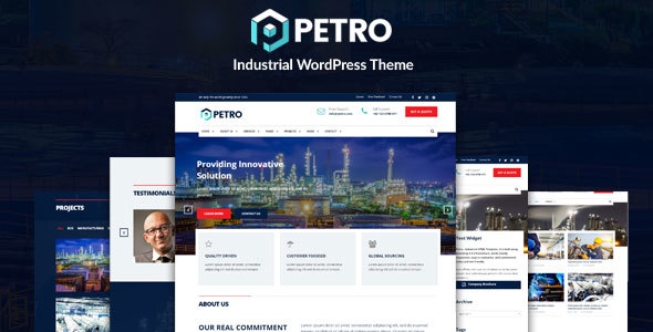 Petro Preview Wordpress Theme - Rating, Reviews, Preview, Demo & Download