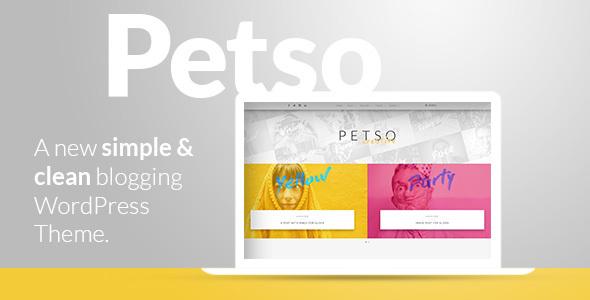 Petso Preview Wordpress Theme - Rating, Reviews, Preview, Demo & Download