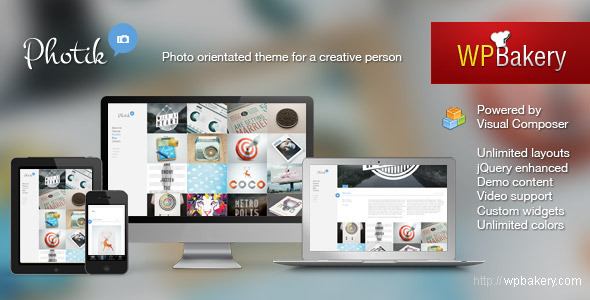 Photik Preview Wordpress Theme - Rating, Reviews, Preview, Demo & Download