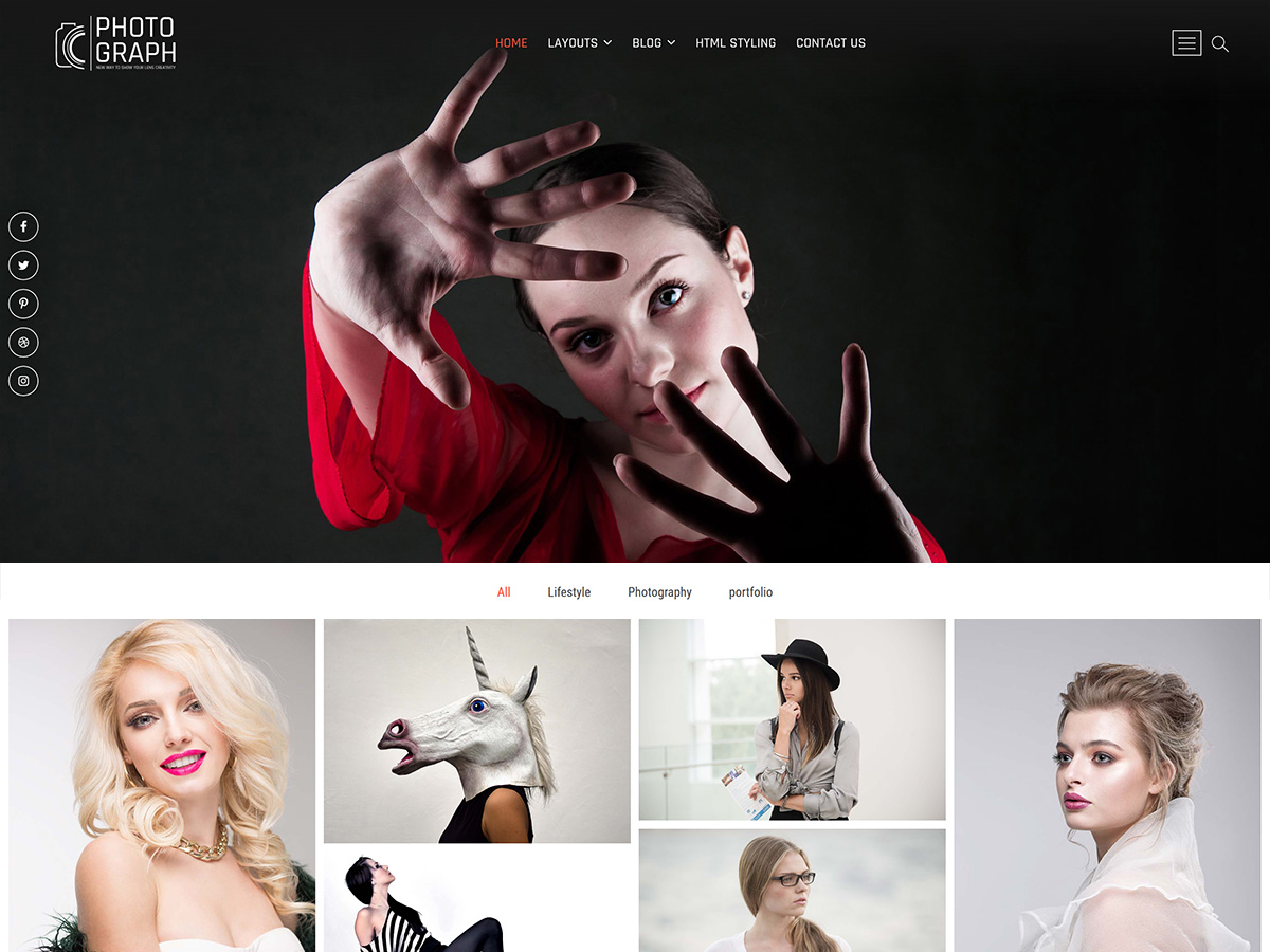 Photograph Preview Wordpress Theme - Rating, Reviews, Preview, Demo & Download