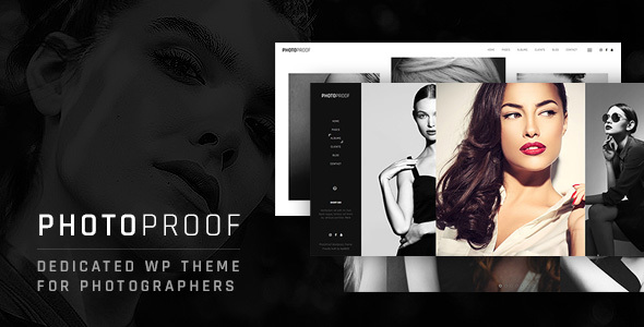 PhotoProof Preview Wordpress Theme - Rating, Reviews, Preview, Demo & Download
