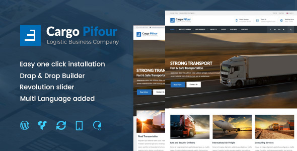 Pifour Preview Wordpress Theme - Rating, Reviews, Preview, Demo & Download