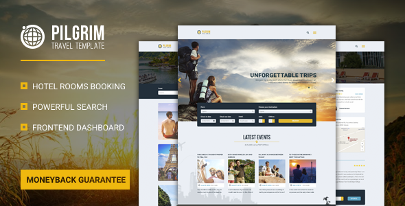Pilgrim Preview Wordpress Theme - Rating, Reviews, Preview, Demo & Download