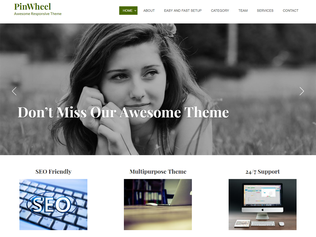 Pinwheel Preview Wordpress Theme - Rating, Reviews, Preview, Demo & Download