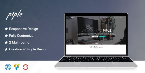 Piple Preview Wordpress Theme - Rating, Reviews, Preview, Demo & Download
