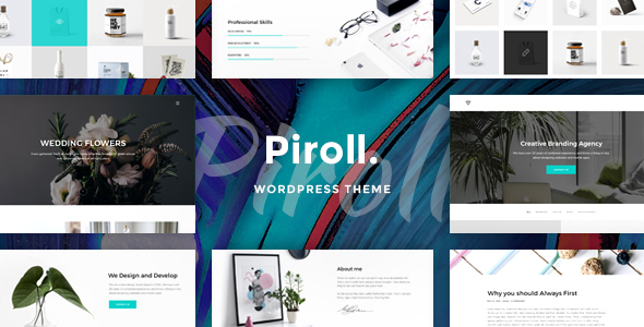 Piroll Preview Wordpress Theme - Rating, Reviews, Preview, Demo & Download