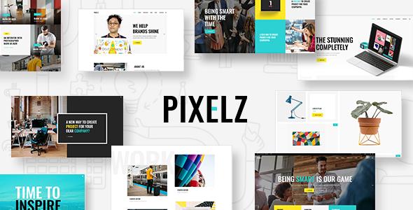 Pixelz Preview Wordpress Theme - Rating, Reviews, Preview, Demo & Download