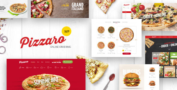 Pizzaro Preview Wordpress Theme - Rating, Reviews, Preview, Demo & Download