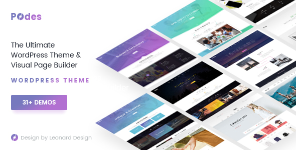 Podes Preview Wordpress Theme - Rating, Reviews, Preview, Demo & Download