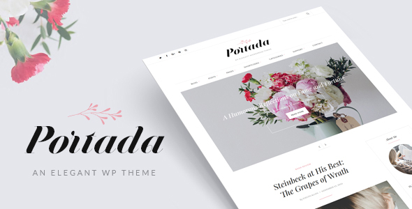 Portada Preview Wordpress Theme - Rating, Reviews, Preview, Demo & Download