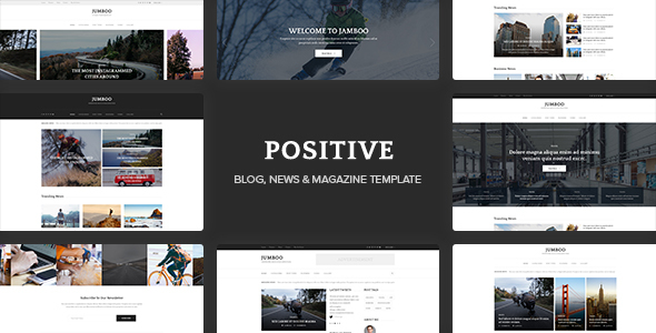Positive Preview Wordpress Theme - Rating, Reviews, Preview, Demo & Download