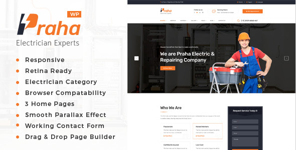 Praha Preview Wordpress Theme - Rating, Reviews, Preview, Demo & Download