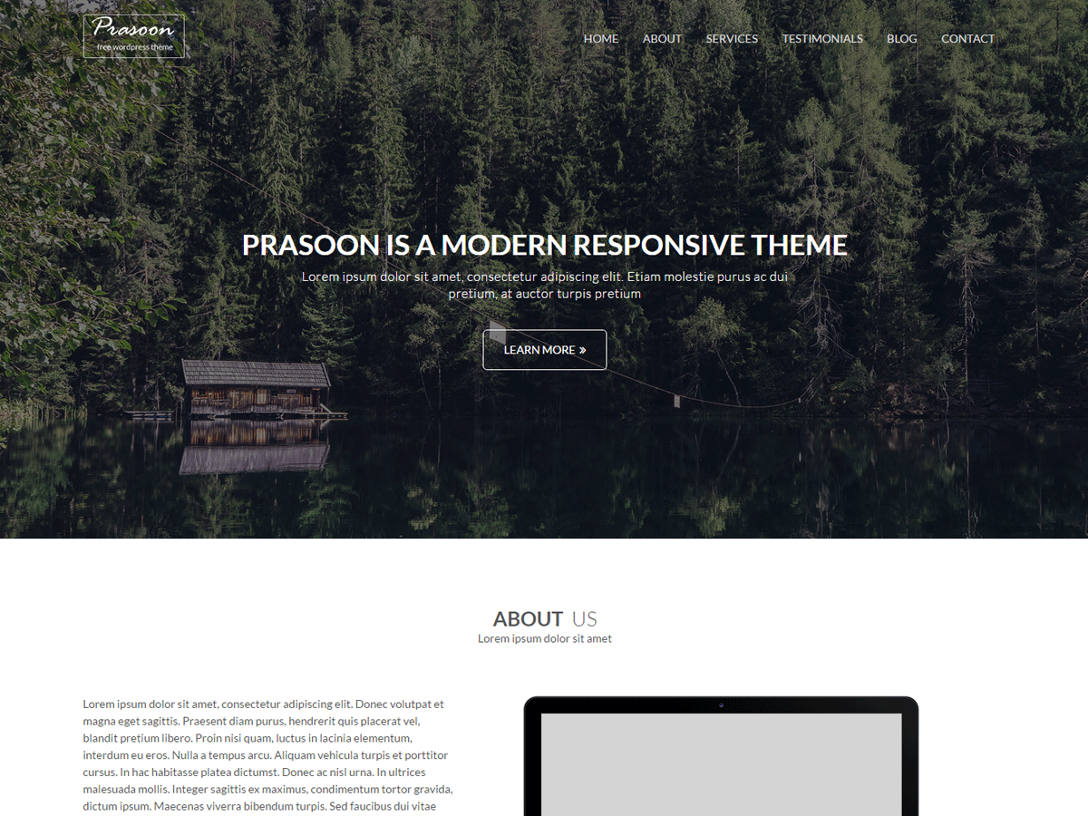 Prasoon Preview Wordpress Theme - Rating, Reviews, Preview, Demo & Download