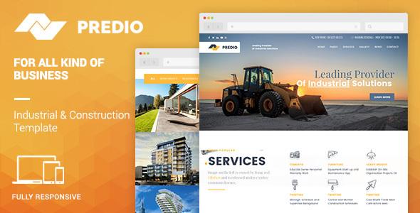 Predio Preview Wordpress Theme - Rating, Reviews, Preview, Demo & Download